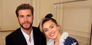 Miley Cyrus cu Liam Hemsworth